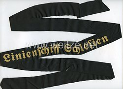 """Kriegsmarine Mützenband """"Linienschiff Schlesien"""""""