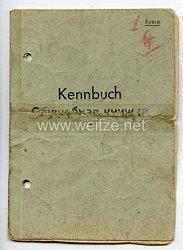Kennbuch eines russischen Freiwilligen ( Hiwi ) in der deutschen Wehrmacht