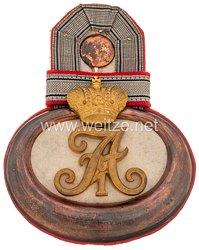 Preußen Einzel Epaulette für einen Leutnantm Kaiser Alexander Garde-Grenadier-Regiment Nr. 1