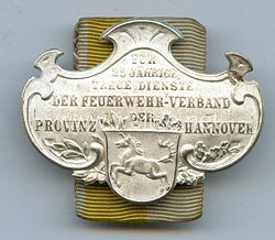 Hannover Der Feuerwehr Verband der Provinz Hannover 1902 - 1918