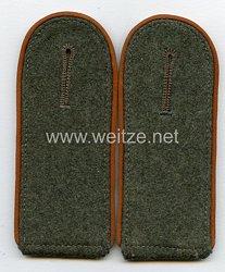 Wehrmacht Heer Paar Schulterklappen Mannschafteneiner Kradschützen-Abteilungen