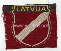 Ärmelschild der lettischen Freiwilligen der Waffen-SS,