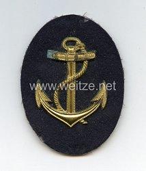 Kriegsmarine Ärmelabzeichen Metallausführung Bootsmannsmaat
