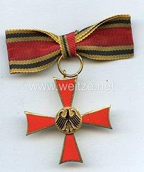 Bundes Republik Deutschland ( BRD ) Bundesverdienstkreuz an Damenschleife