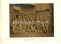 Weimarer Republik Mannschaftsfoto, Angehörige eines Freikorps in München Mai 1919