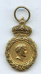 Frankreich St.Helena Medaille zur Erinnerung an den Tod Napoleons I., 1821