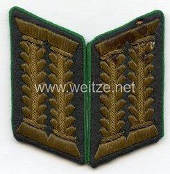Wehrmacht Heer Paar Kragenspiegel für einen WH-Beamten im gehobenen Dienst als Oberstabsapotheker