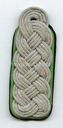 Waffen-SS Einzel Schulterstück für einen SS-Sturmbannführer des SD
