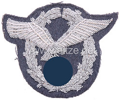 Flugzeugführerabzeichen -Metallfaden handgestickte Ausführung