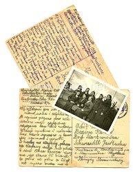 III. Reich - 2 Postkarten einer Ukrainischen Ostarbeiterin