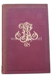 Offizier-Stammliste des 6. Rheinischen Infanterie - Regiments Nr 68, vom 1. Juli 1860 - 1902