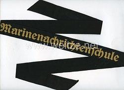 """Kriegsmarine Mützenband """"Marinenachrichtenschule"""""""
