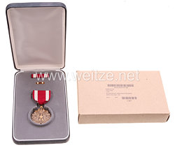 USA - Meritorious Service Medal in Case with Lapel Pin and Ribbon Bar
