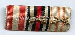 Bandspange eines hamburgerischen Veteranen des 1. Weltkriegs