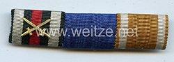 Bandspange für einen Veteranen des Ersten Weltkriegs und Arbeiter am Schutzwall