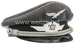 Luftwaffe Schirmmütze für einen Fähnrich