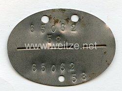 """Luftwaffe Erkennungsmarke65062 """" 1.Staffel/Kampfgruppe 21 7./Kampf-Geschwader 100 """""""