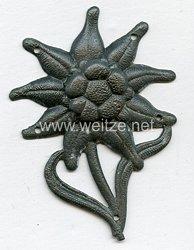 Wehrmacht Heer Mützen-Edelweiß für Gebirgsjäger