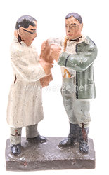 Lineol - Heer Arzt einen Soldaten versorgend