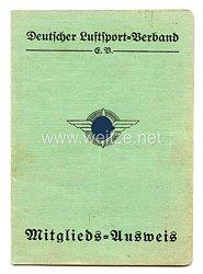 Deutscher Luftsport-Verband ( DLV ) - Mitgliedsausweis