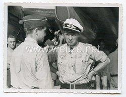 Luftwaffe - Originalunterschrift von Ritterkreuzträger Major Hermann Hogeback