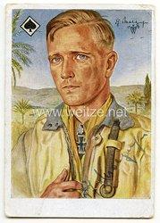 Luftwaffe - Originalunterschrift von Ritterkreuzträger Major Günther Freiherr von Maltzahn