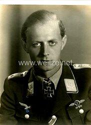 Luftwaffe Foto, Ritterkreuzträger Helmut Weinreich