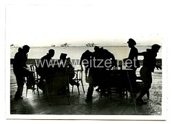 Luftwaffe Pressefoto: Deutsche und rumänische Jäger im gemeinsamen Abwehrkampf 3.1.1944