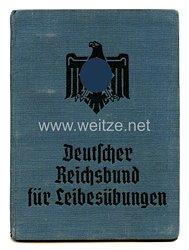 Nationalsozialistischer Reichsbund für Leibesübungen ( NSRL ) - Mitgliedsbuchund Deutscher Reichsbund für Leibesübungen ( DRL ) - Spielerausweis Fachamt - Fussball