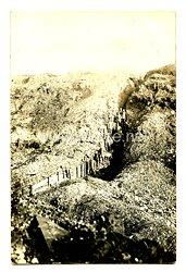 1. Weltkrieg Foto Soldaten im Schützengraben