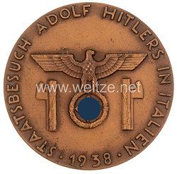NSDAP nichttragbare Auszeichnungsplakette der NSDAP AO Landesgruppe Italien zum
