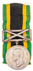 """Sachsen Weimar Eisenach Allgemeines Ehrenzeichen in Silber """"Dem Verdienste"""" mit Spange und Schwertern 1902-1908"""