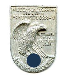 III. Reich - Wiedersehensfeier der Alten Parteigenossen - Gau Westfalen-Süd Hattingen Ruhr 15.-17. Juni 1935