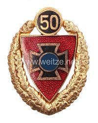 Nationalsozialistischer Reichskriegerbund ( NSRKB ) - Goldene Ehrennadel für 50 jährige Mitgliedschaft