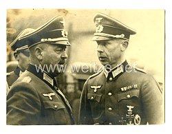 Wehrmacht Heer Foto, Major mit Wiederholungsspange zum Eisernen Kreuz und Baltenkreuz