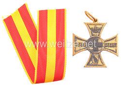 Baden Kreuz für freiwillige Kriegshilfe 1914 - 1916