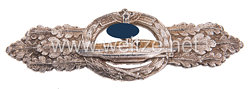 U-Bootfrontspange in Silber