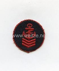 Marine-HJ Ärmelabzeichen Reichsseefunkprüfung C, als K-Schein