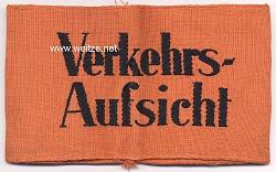 "Wehrmacht Heer Armbinde der Feldgendarmerie ""Verkehrs-Aufsicht"""