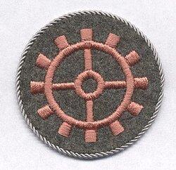 Wehrmacht Heer Ärmelabzeichen für Handwerker