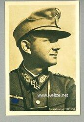 Heer - Portraitpostkarte von Ritterkreuzträger Generalleutnant Hans Kreysing