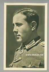 Heer - Portraitpostkarte von Ritterkreuzträger Oberfeldwebel Otto Starosta