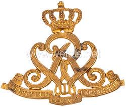 Preußen Beschlag für die Offiziers Pelzmütze im Husaren Regiment Nr. 7