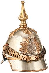 Mecklenburg -Schwerin Helm für Offiziere der Dragoner - Helm aus Besitz von Paul Friedrich Wilhelm Heinrich, Herzog zu Mecklenburg,
