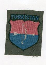 Wehrmacht Heer Ärmelschild für Freiwillige Turkistan