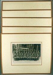 RAD-Abteilung 2/186 - 5 grosse Fotos von der Vereidigung und Gruppenbilder