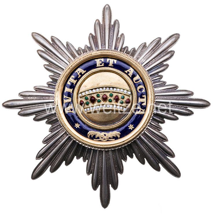 Kaiserlich Österreichischer Orden der Eisernen Krone Bruststern zur 1. Klasse