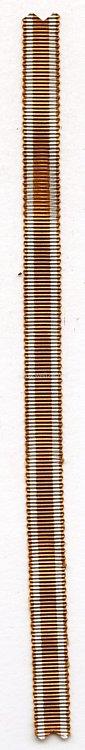 Originales Miniaturband zum Schutzwall-Ehrenzeichen