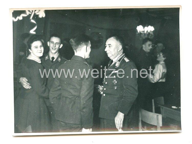 III. Reich Foto, Offizier mit Bürgermeisterkette