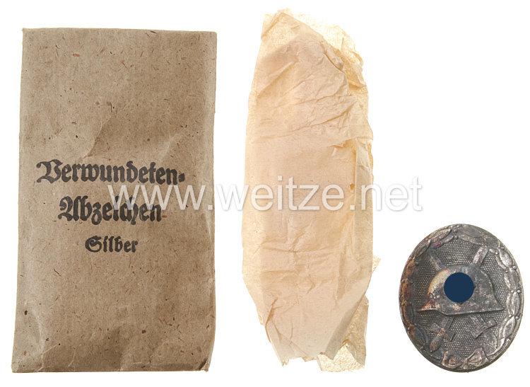 Verwundetenabzeichen 1939 in Silber - Steinhauer & Lück